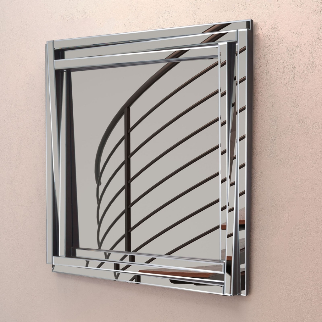 Redefine Square Wall Mirror 4