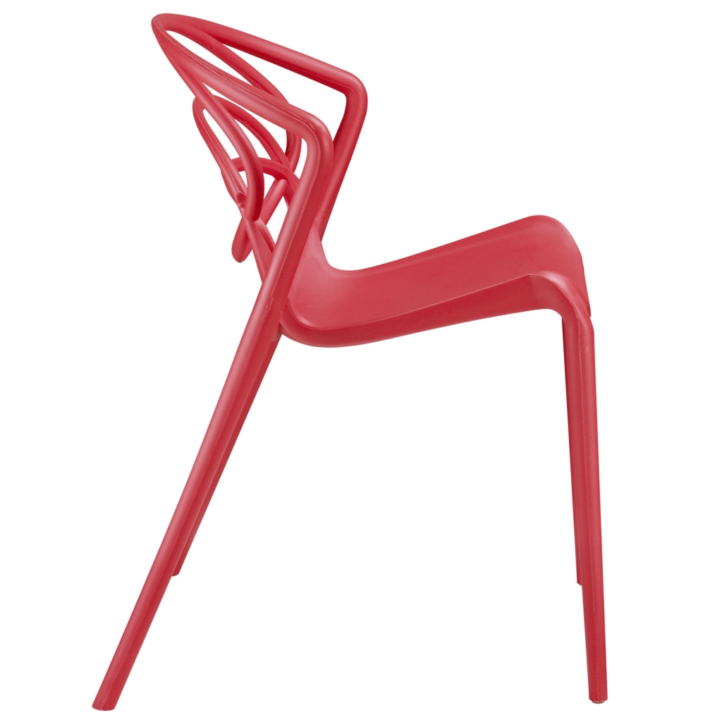 Ring Chair Red 2