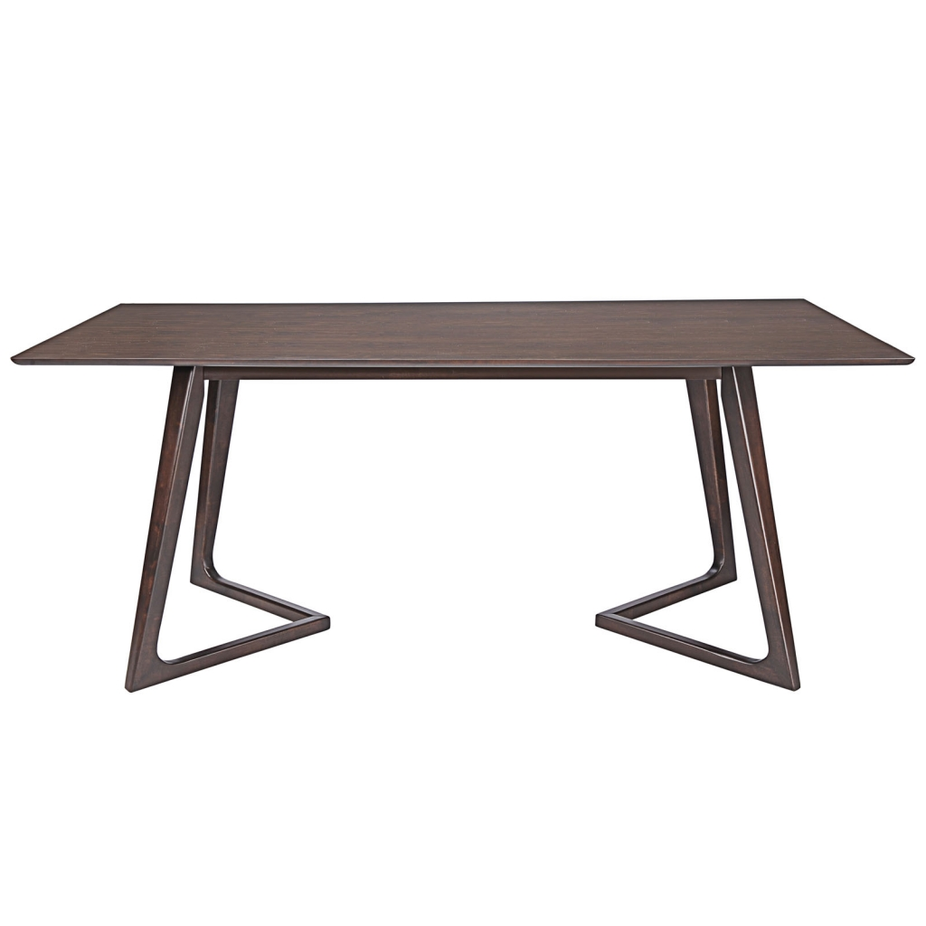 Sherwood Walnut Wood Dining Table 3