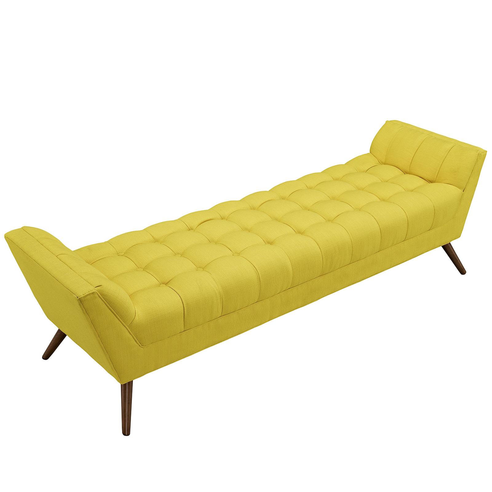 Yellow Hued Bench Large