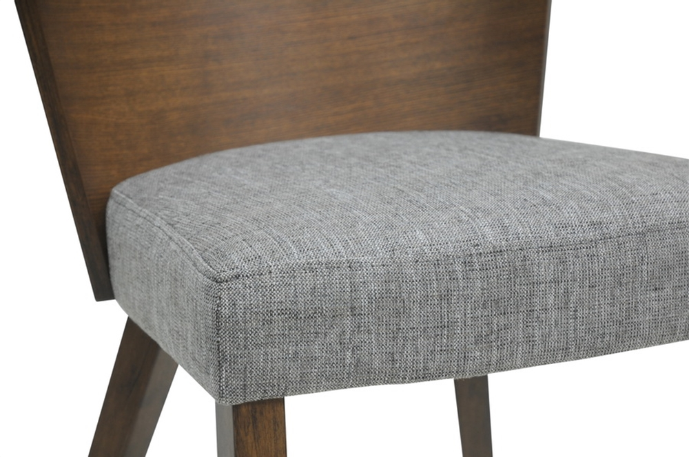 helsinki chair gray fabric modern