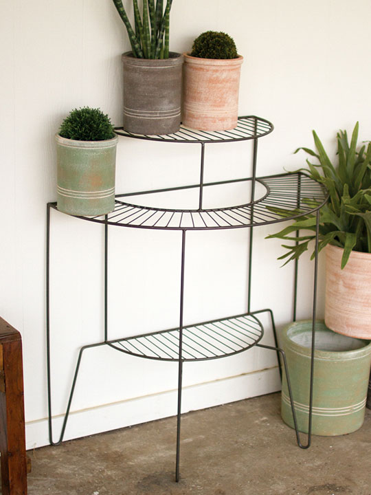 3 Tier Wire Plant Stand