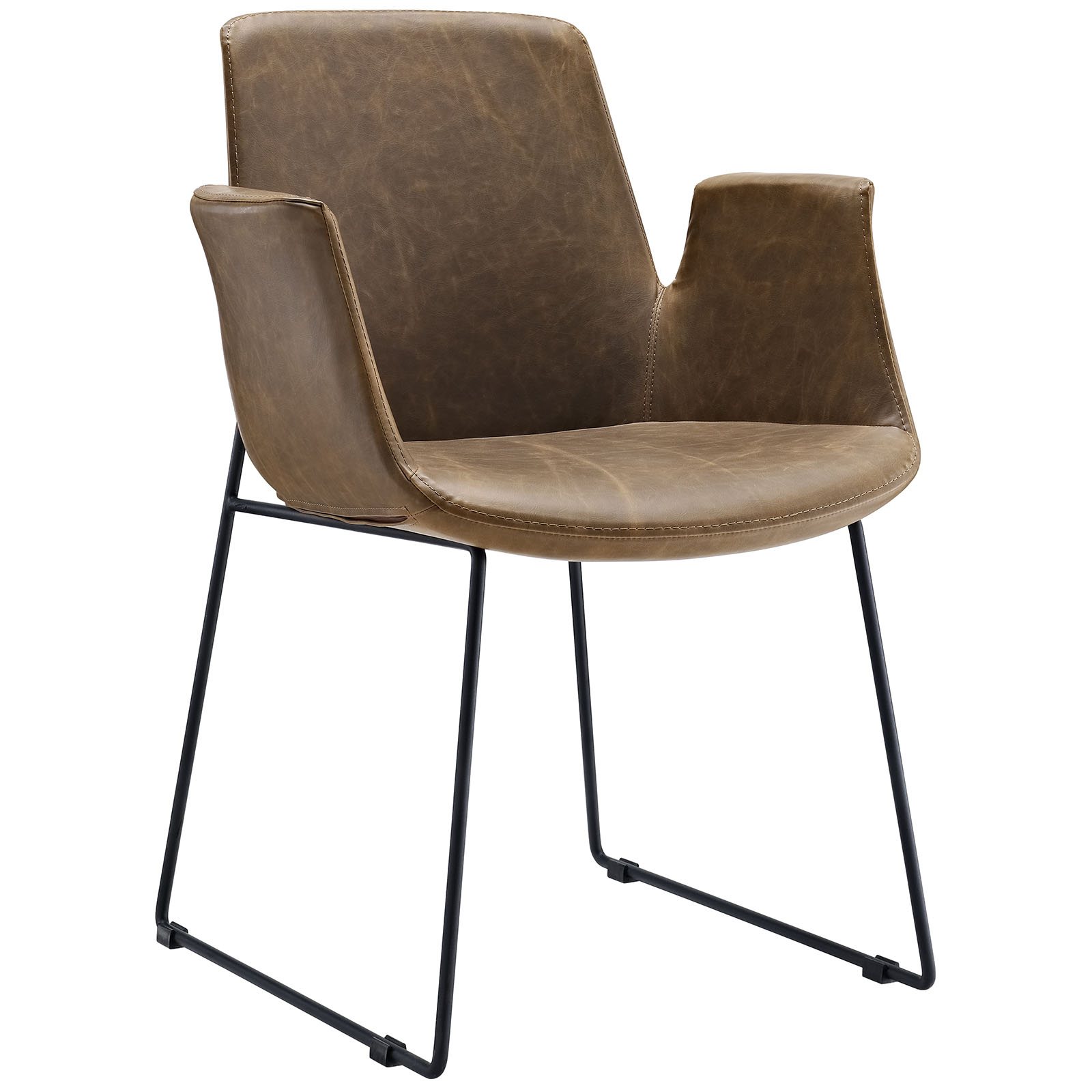 Brown Beacon Armchair