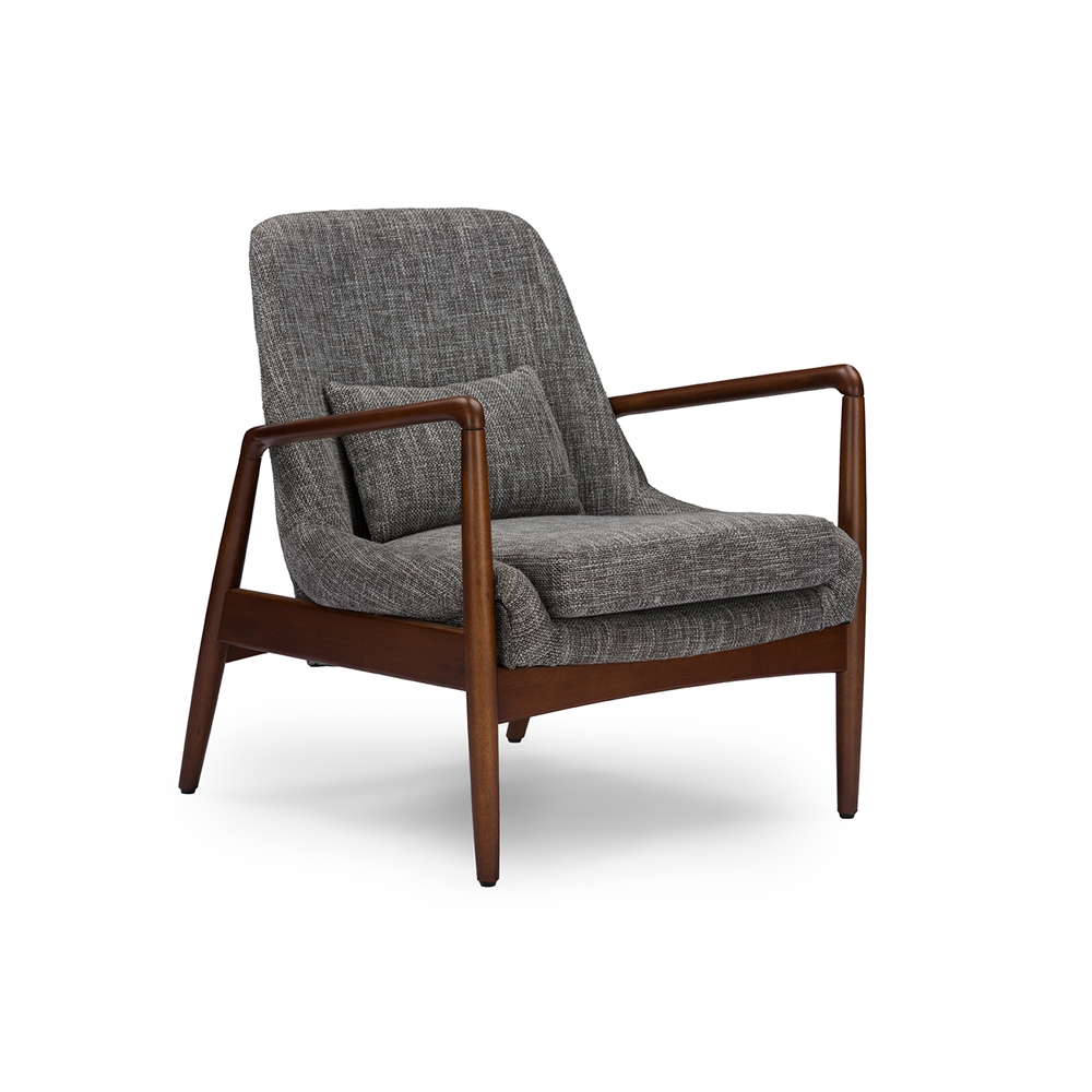 Conroy Gray Accent Armchair 2