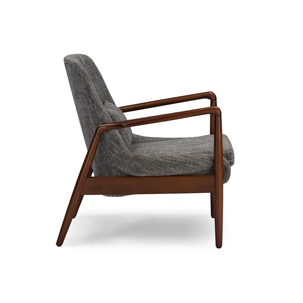 Conroy Gray Accent Armchair 3