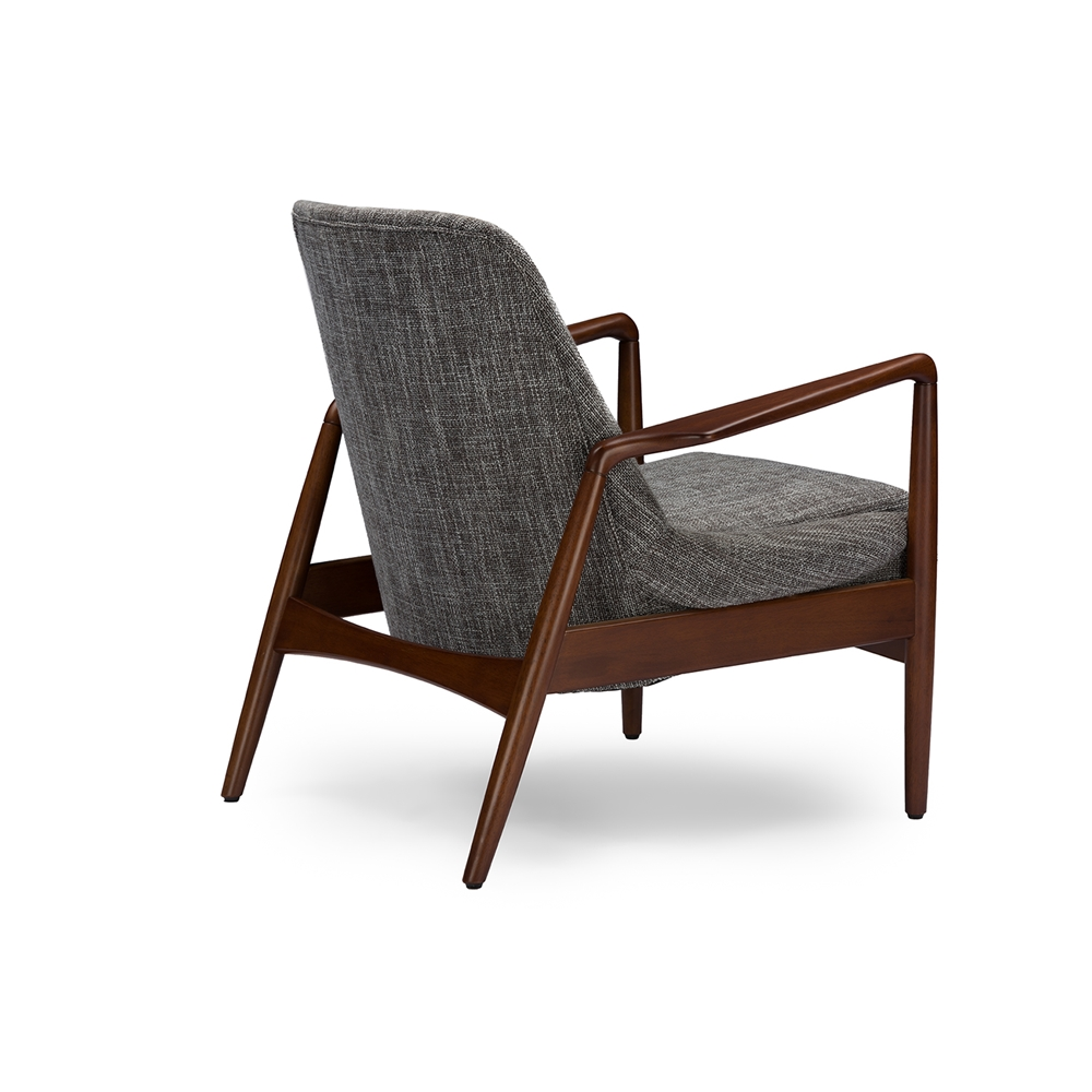 Conroy Gray Accent Armchair 4