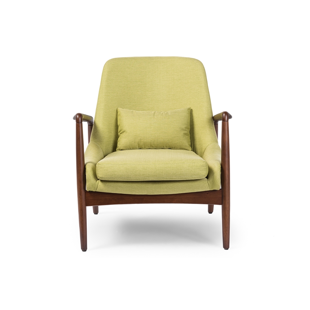 Conroy Green Accent Armchair