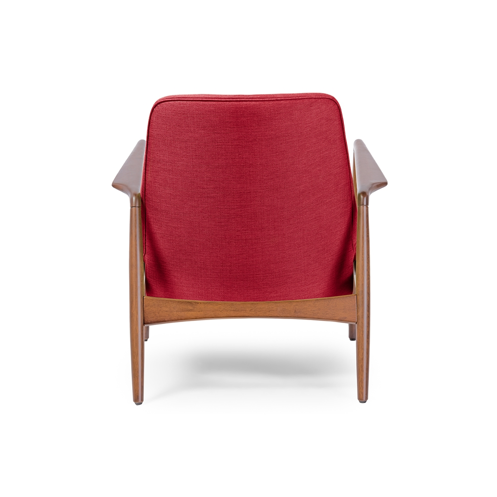 Conroy Red Accent Armchair 4