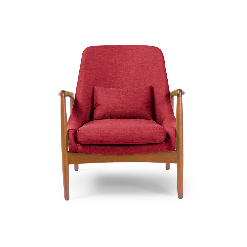 Conroy Red Accent Armchair