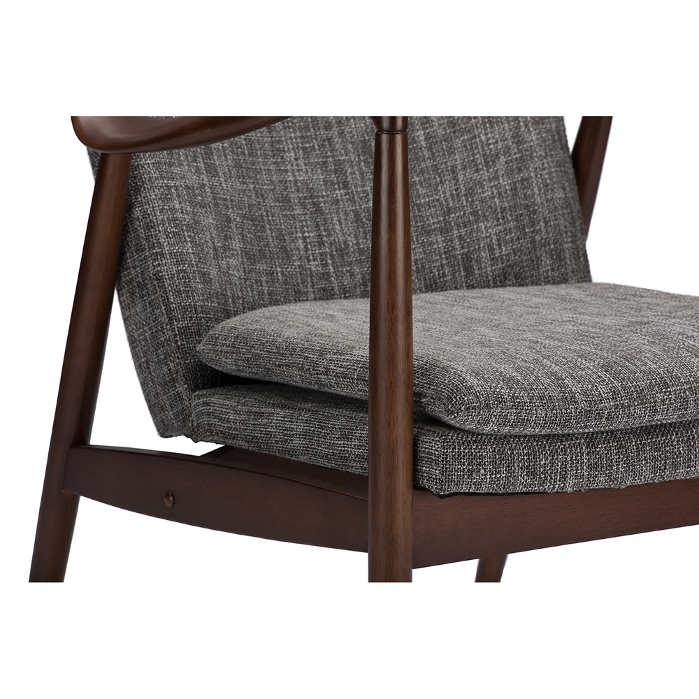 Finian Gray Accent Armchair 5