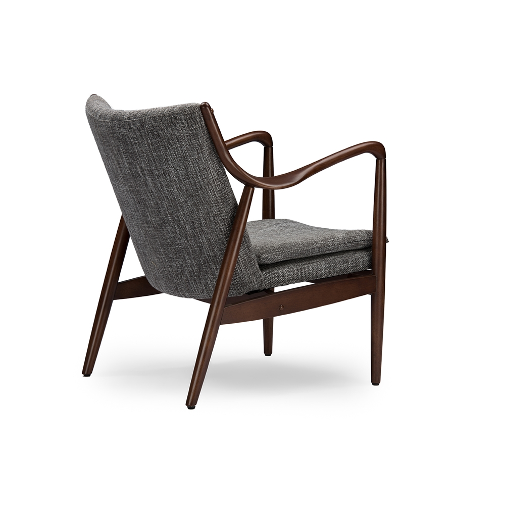 Finian Gray Accent Armchair