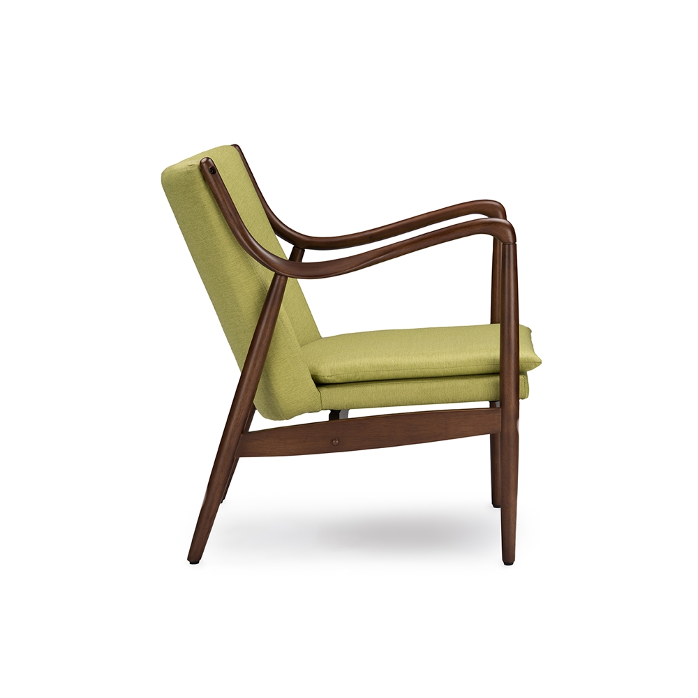 Finian Green Accent Armchair 3