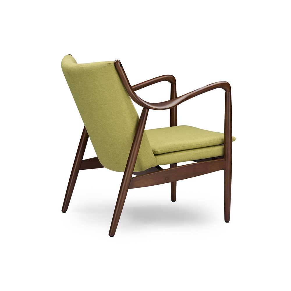 Finian Green Accent Armchair 4