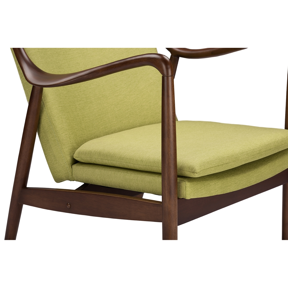 Finian Green Accent Armchair 5