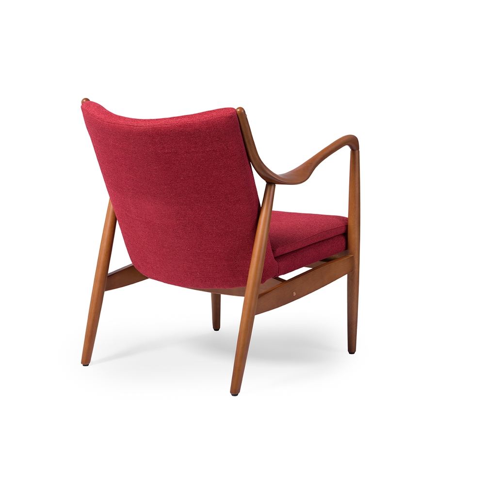 Finian Red Accent Armchair 5