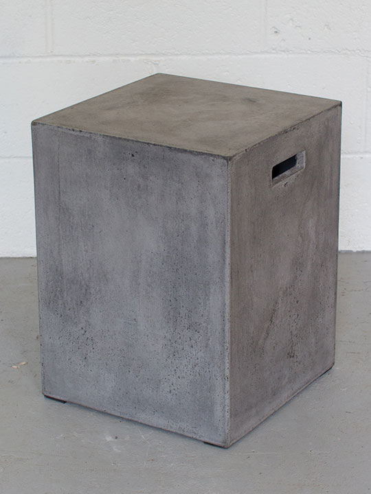 concrete stool