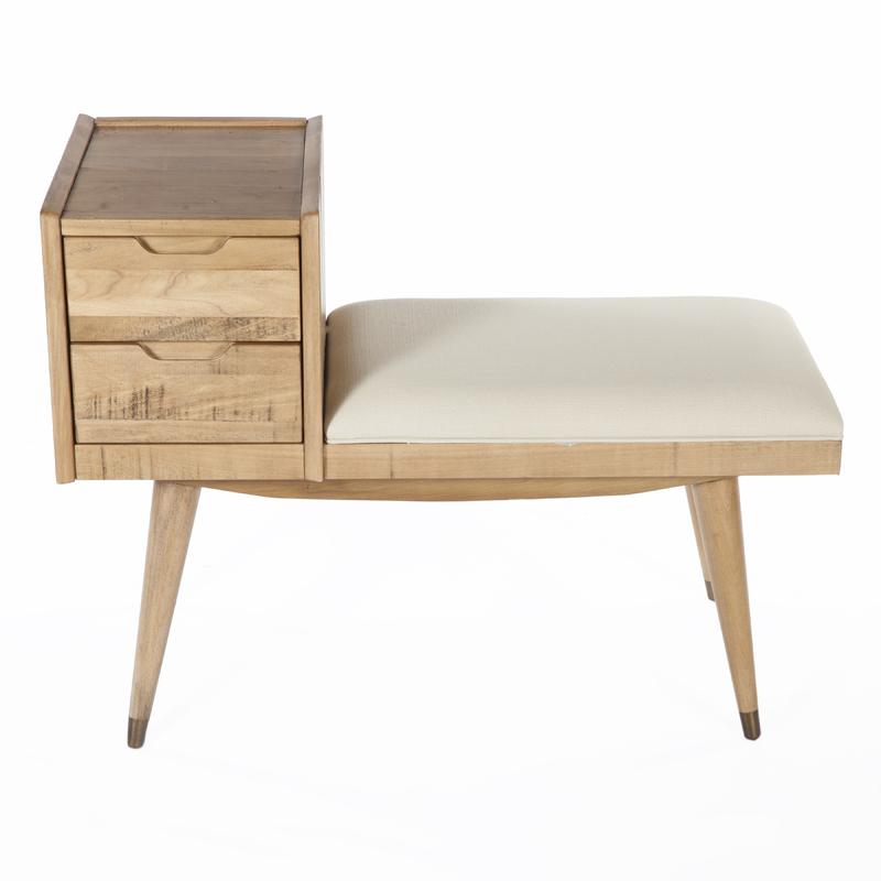 drawer bench