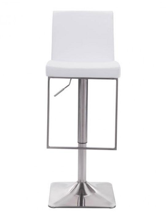 White modern barstool