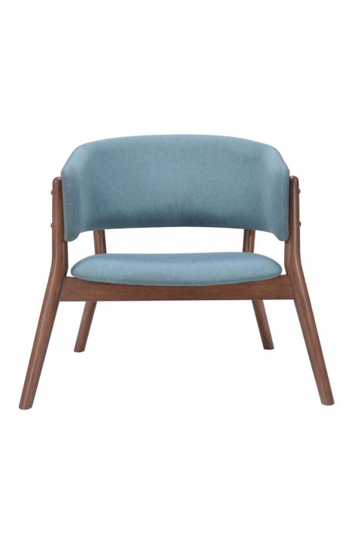 Mariner Blue Wood Accent Chair 2