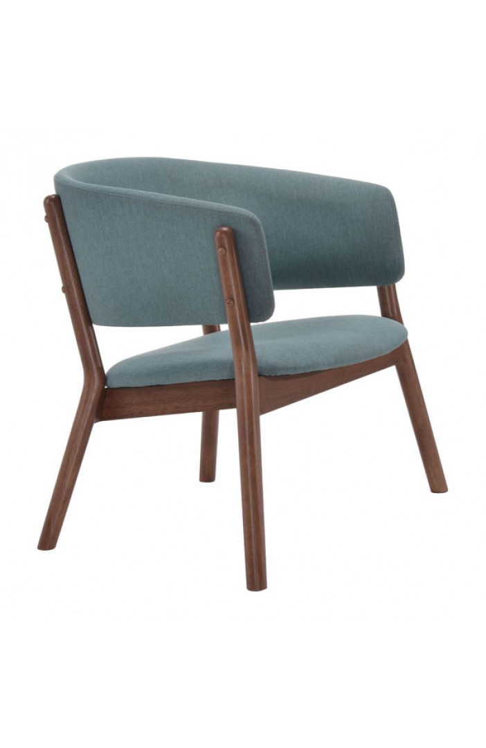 Mariner Blue Wood Accent Chair 5