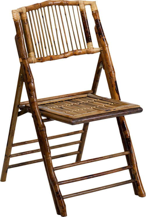 Bamboo Folding Chair | Modern Furniture • Brickell Collection