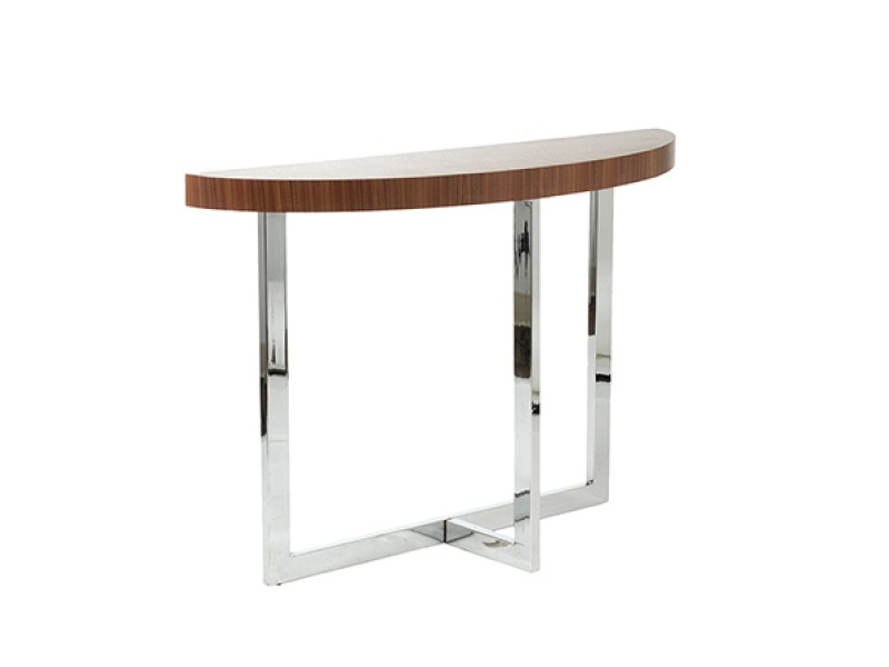 bisou console table walnut wood 2