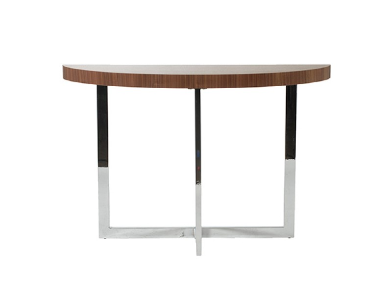 bisou console table walnut wood 3
