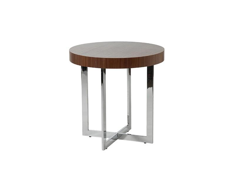 bisou side table walnut wood 2