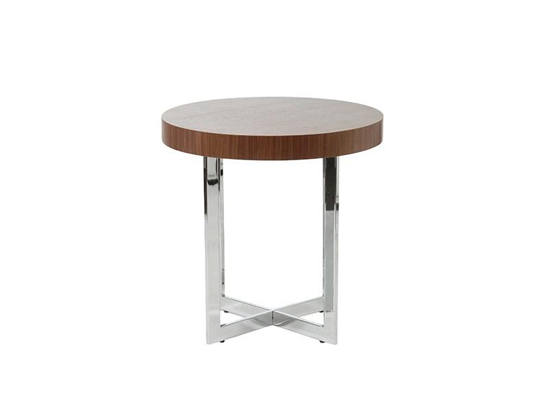 bisou side table walnut wood 3