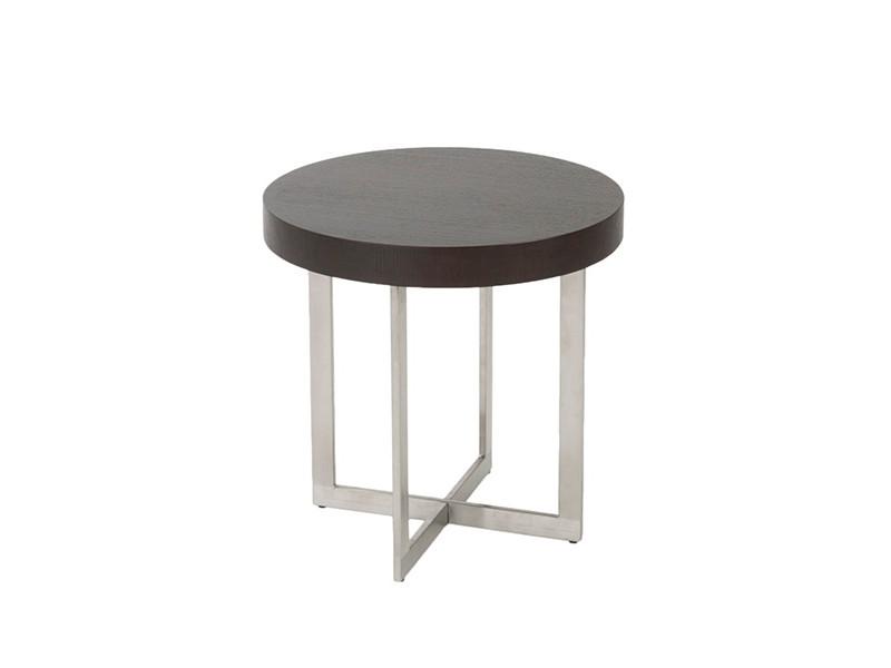bisou side table wenge wood