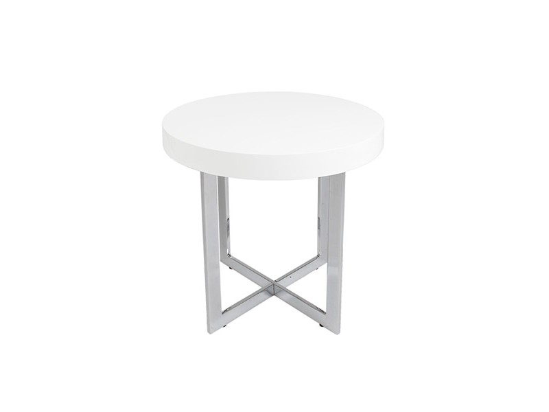 bisou side table white 2