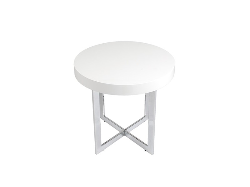 bisou side table white 3