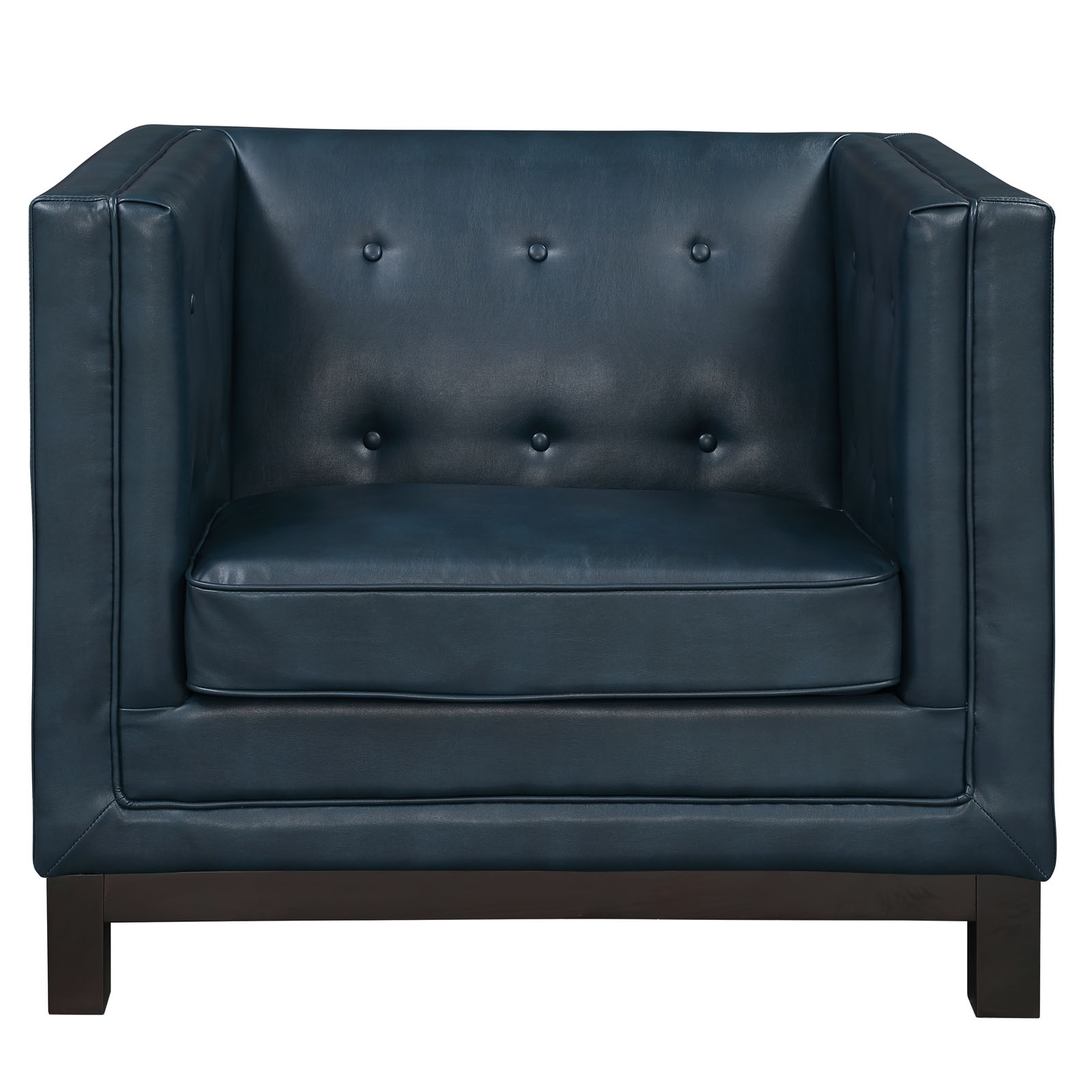 empire sofa armchair blue