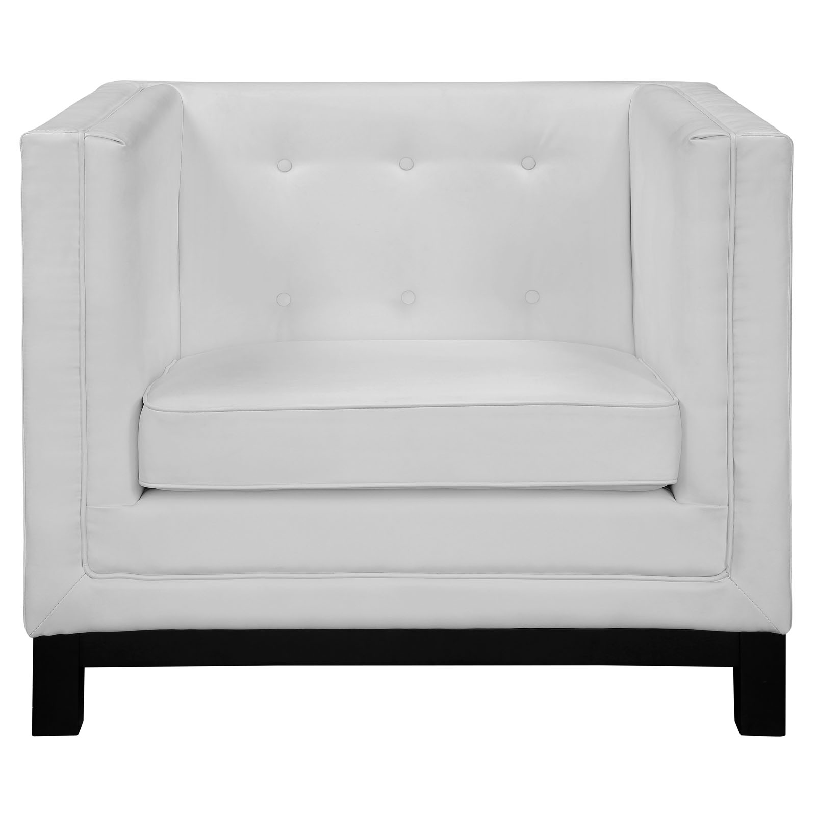 empire sofa armchair white