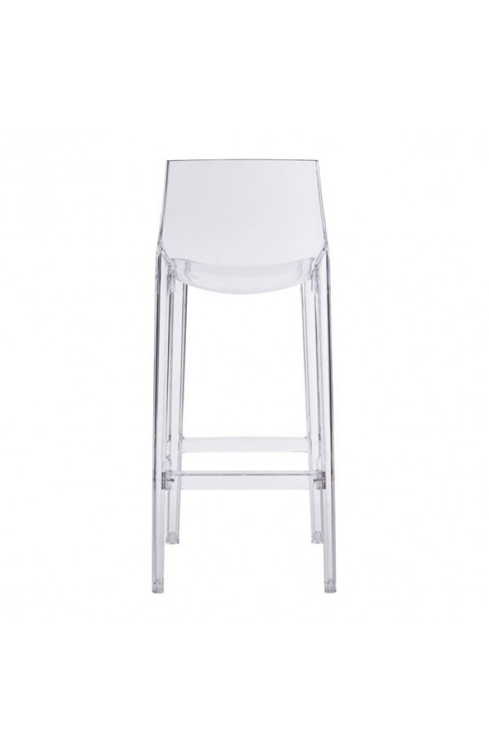 translucent clear barstool 1