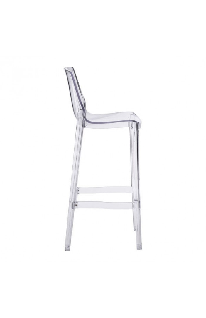 translucent clear barstool 4