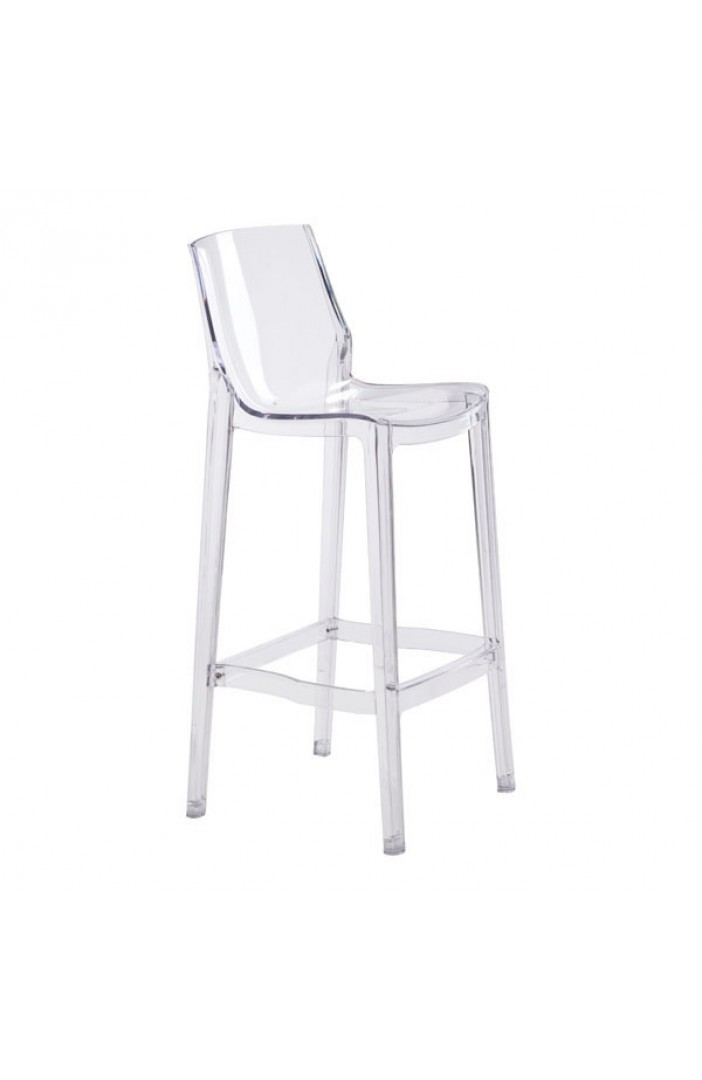 translucent clear barstool 5