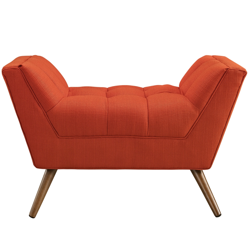 Hued Ottoman Red Orange 2