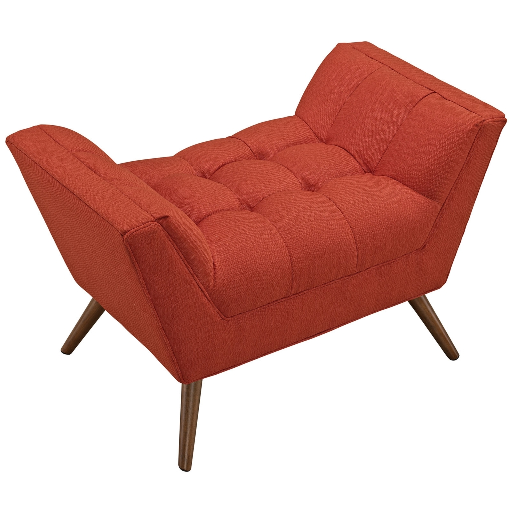 Hued Ottoman Red Orange 3