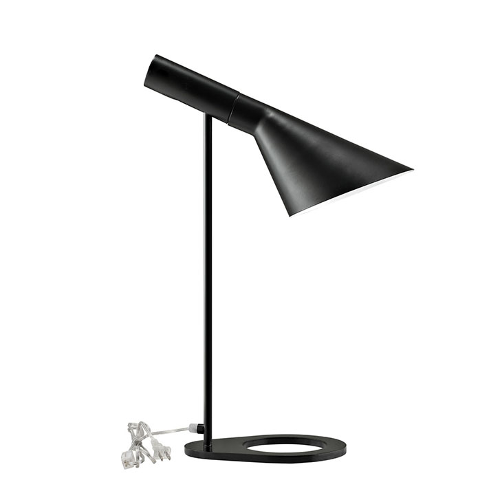 dial table lamp black