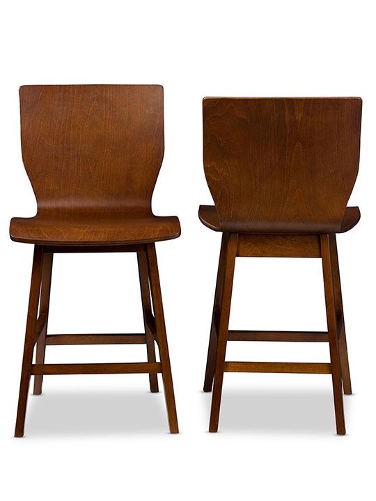 mid century bentwood stool