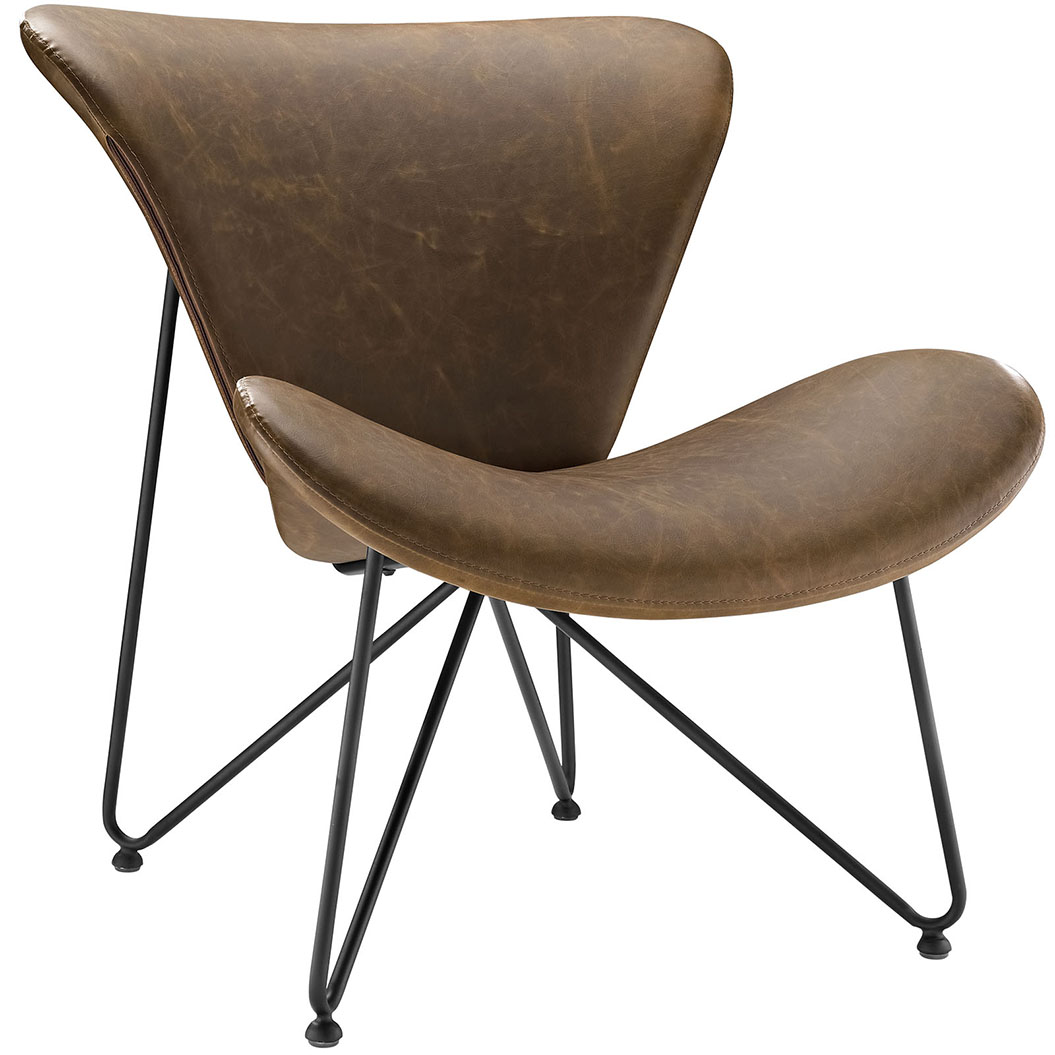 beacon brown lounge chair