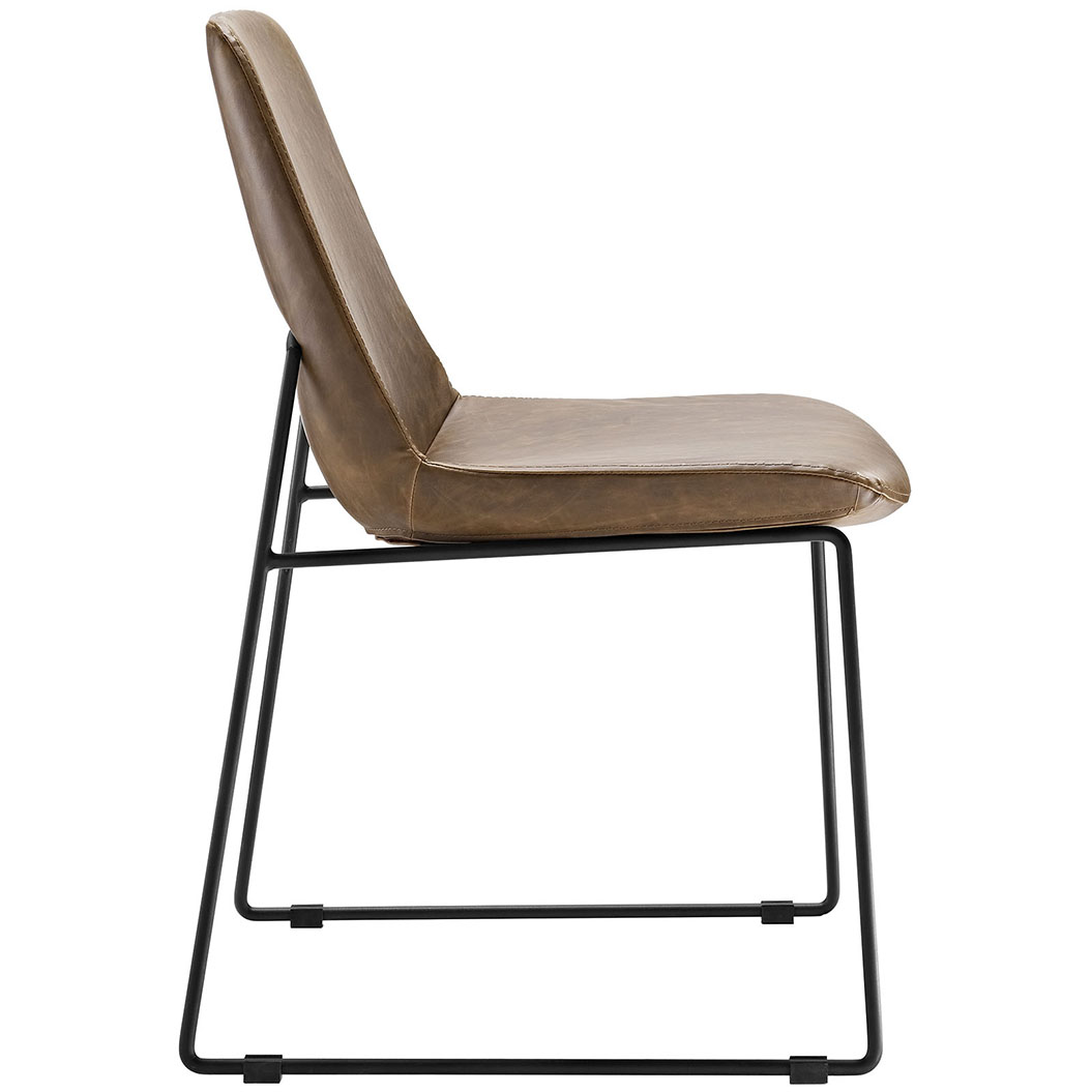 beacon brown side chair