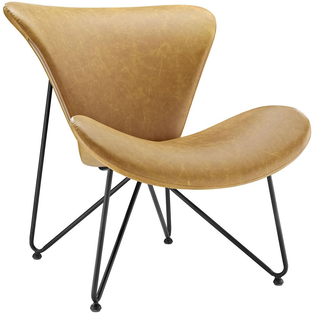 beacon tan lounge chair
