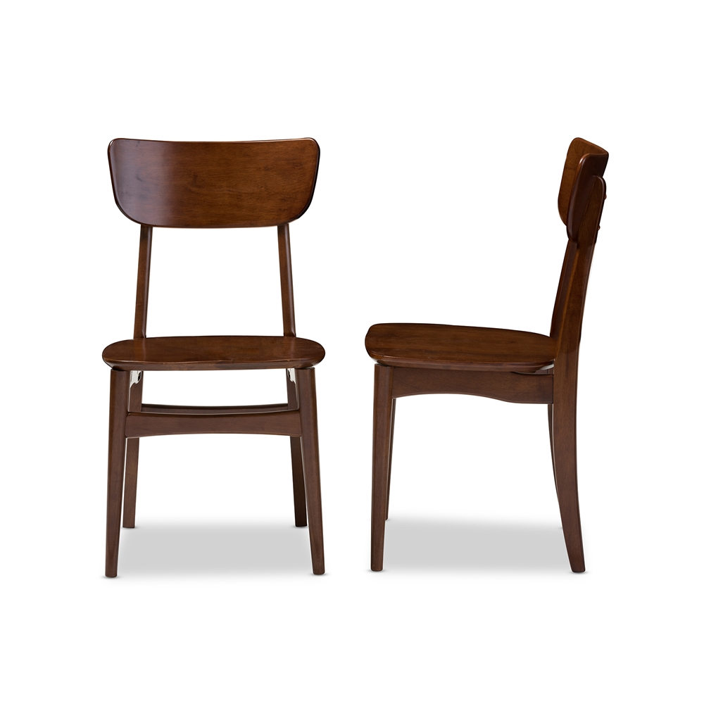 bentwood dining chair set 2