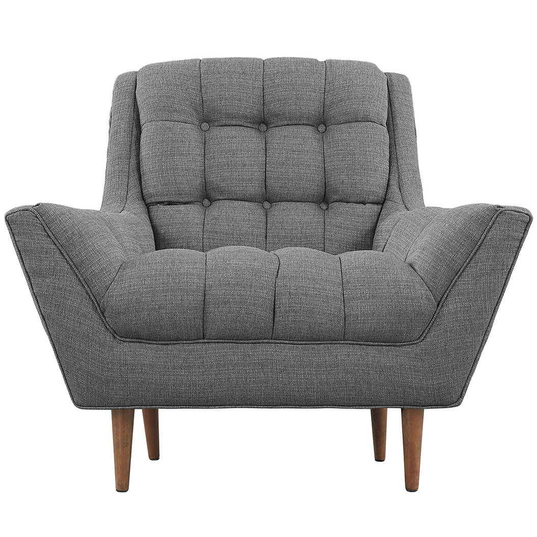 hued dark gray armchair 4