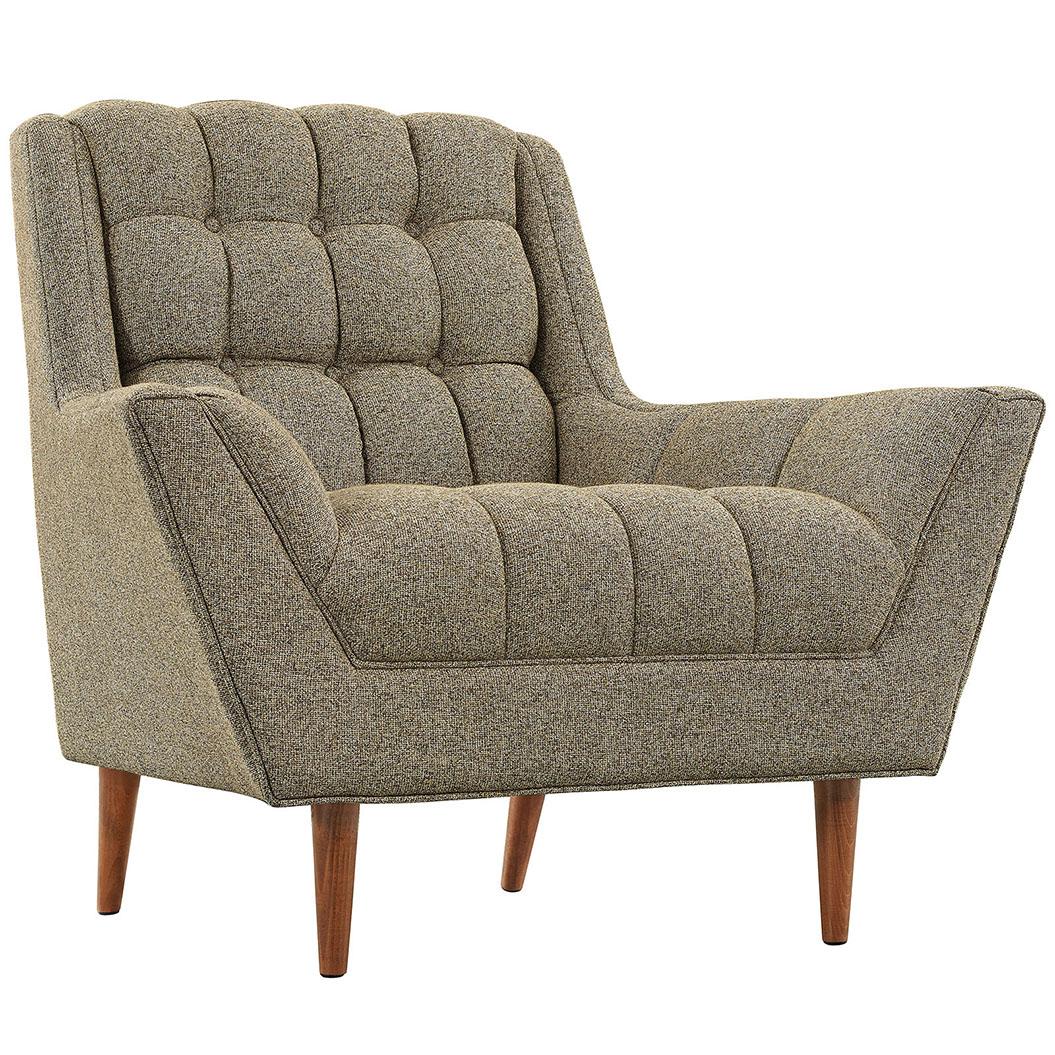 hued taupe armchair