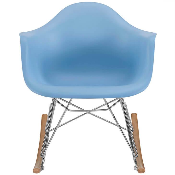 kids blue rocking chair 2