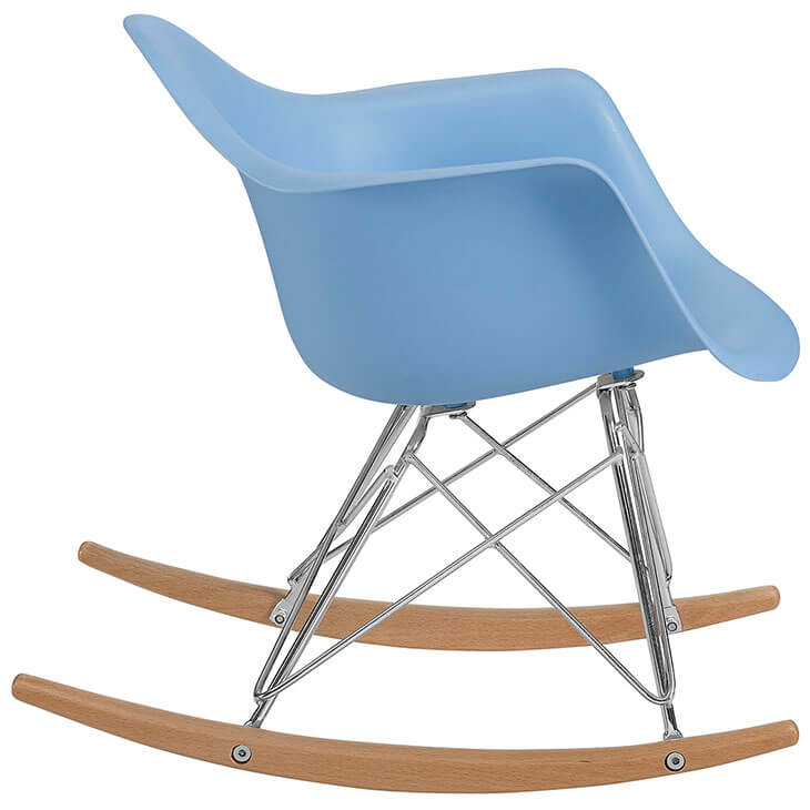 kids blue rocking chair 4