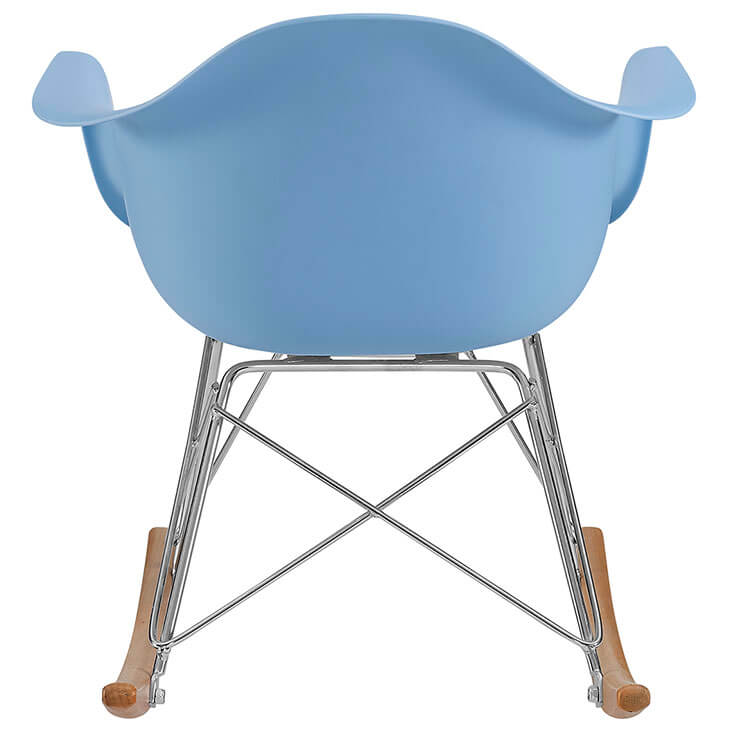 kids blue rocking chair 5